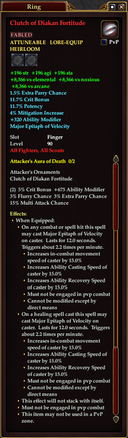Clutch of Diakan Fortitude
