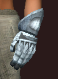 Knight's Gauntlets of the Citadel (Equipped)
