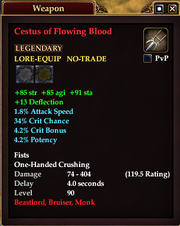 Cestus of Flowing Blood