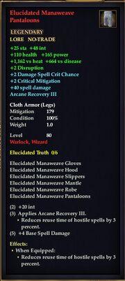 Elucidated Manaweave Pantaloons