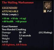 The Wailing Warhammer