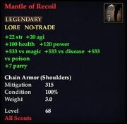 Mantle of Recoil