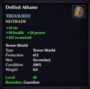 Defiled Athame