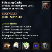 Pulsating Cache