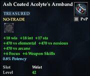 Ash Coated Acolyte's Armband