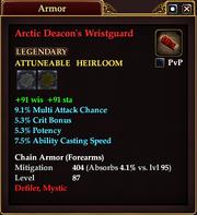 Arctic Deacon's Wristguard