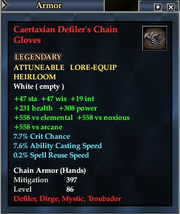 Caertaxian Defiler's Chain Gloves