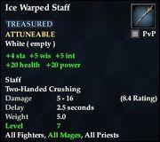 Ice Warped Staff