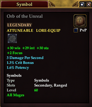 Orb of the Unreal
