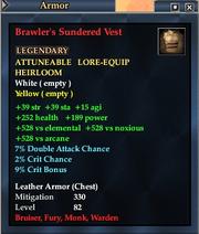 Brawler's Sundered Vest