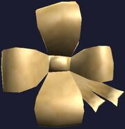 Gold Frostfell Bow (Visible)