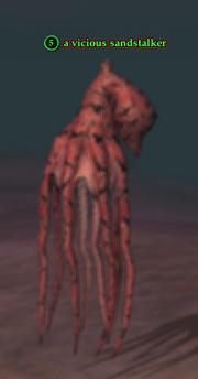 A vicious sandstalker