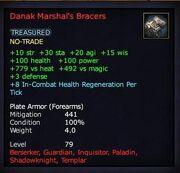 Danak marshal's bracers