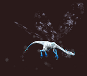 Frost Fae Drake Plushie (Visible)