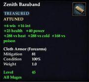 Zenith Bazuband