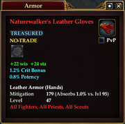 Naturewalker's Leather Gloves