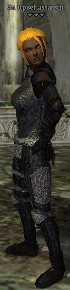 An upset assassin