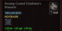 Swamp Coated Gladiator's Manacle