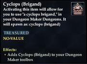 Cyclops (Brigand)