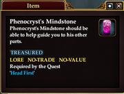 Phenocryst's Mindstone