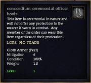 Concordium ceremonial officer boots