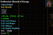 Nathsarian Shroud of Energy
