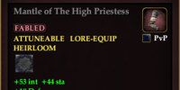 Mantle of The High Priestess