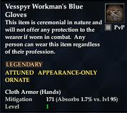 Vesspyr Workman's Blue Gloves