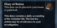 Diary of Butrus