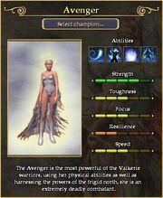 Avenger arena stats