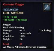 Garwater Dagger