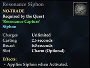 Resonance Siphon