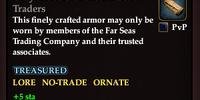 Grey Bracers of the Far Seas Traders