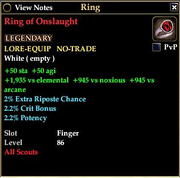 Ring of Onslaught
