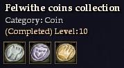 Felwithe coins collection