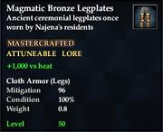 MagmaticBronzeLegplates