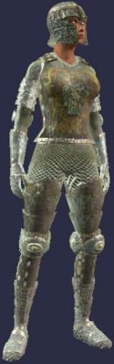 Forged Feyiron Chainmail (Armor Set) (Visible, Female)