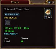 Totem of Cowardice