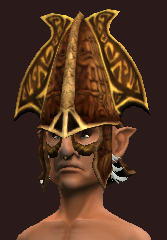 Elysian Coif of the Maestro (Equipped)