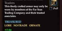Marine Helm of the Far Seas Traders