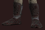 Ancient Tribal Boots (Equipped)