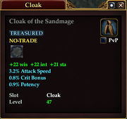 Cloak of the Sandmage