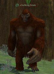 A hulking brute
