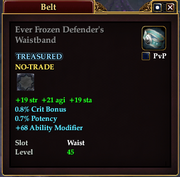 Ever Frozen Defender's Waistband