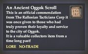 An Ancient Oggok Scroll