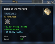 Band of the Warbird