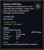 Zatozia's Bullwhip