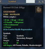 Burned Di'Zok Effigy