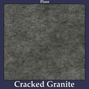Floor Cracked Granite