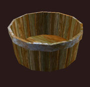 An Armorwashers Bucket Placed